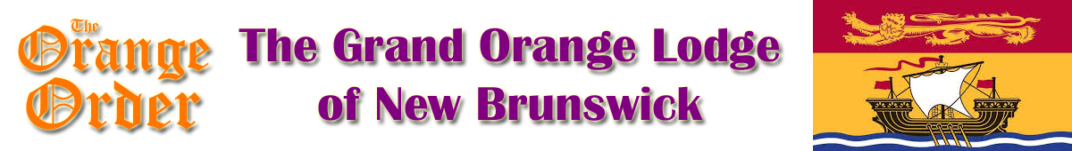 Grand Orange Lodge – NB