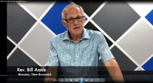 What We Can Do by the Rev. Bill Annis